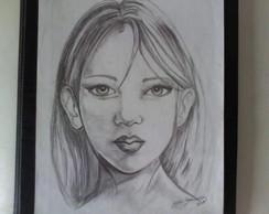 Desenho em Grafite-Canson A4