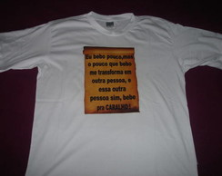 Camiseta Eu Bebo