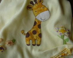 Manta Soft Girafinha