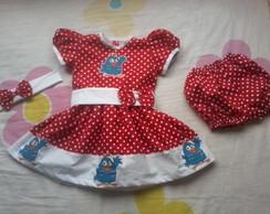 Vestido Galinha Pintadinha 3