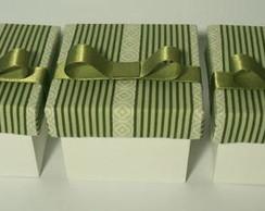 Caixa Lembrancinha Verde Luxo