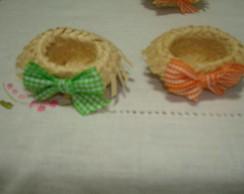 Mini Chap�u de Palha