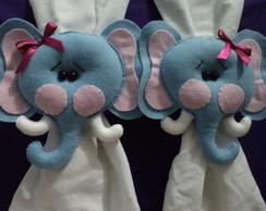 Prendedor de cortina rosto Elefantinha