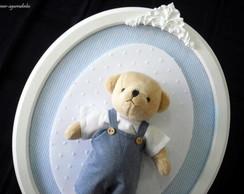 Quadro Oval Urso Proven�al