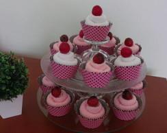 Cupcake de toalha.