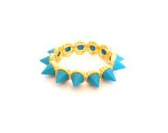 Spike Azul e Dourado