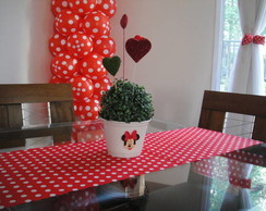 centro de mesa decora��o minnie