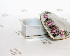 Porta j�ia de porcelana