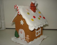 Casinha cofre Gingerbread