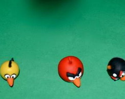 Kit Personagens Angry Birds em Biscuit!