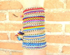 Friendship Bracelet com Correntes