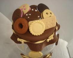 pote de bolacha de biscuit