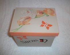 Caixa de Sucos - mdf