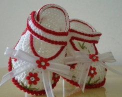 Sapatilha Flowers Baby''exclusiva'''