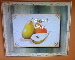 Quadro Frutas - Cozinha