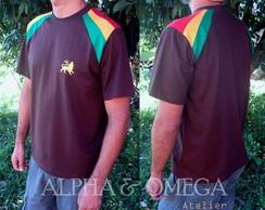 T-shirt Reggae Pedra MARROM