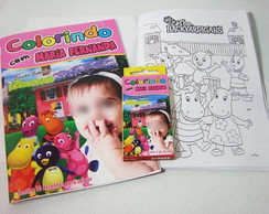 Kit Colorir Backyardigans Rosa