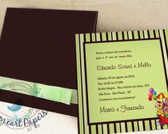 Convite Personalizado Feliz