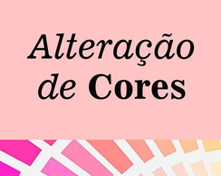 Altera��es de Cores do Kit
