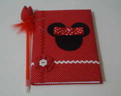 Caderno Decorado - Minnie