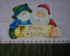 Pano de prato Natal