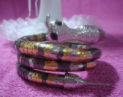 Pulseira ou colar de cobra male�vel