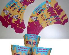 Wrappers para cupcake circo
