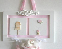 Quadro Porta Maternidade Ovelha