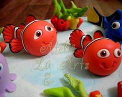 Topo de bolo do Nemo e sua turma