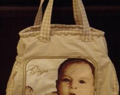Bolsa com foto do beb�