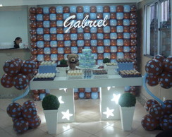Decora��o clean Ch� de Beb� do Gabriel 2