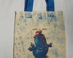 bolsa eco mesclada galinha pintadinha