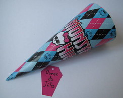 Cone para guloseimas - Monster High