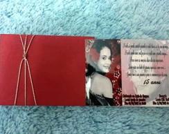convite com envelope personalizado