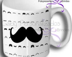 Caneca Personalizada Moustache