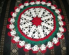 Toalhinha de Natal em Croch� T002