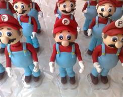 Boneco de biscuit do Mario Bros.