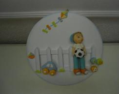 Porta maternidade menino