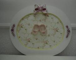 Porta maternidade sapatinhos