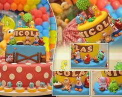 LIndo bolo fake Galinha Pintadinha!!!