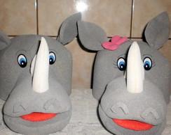 chap�u espuma rinoceronte