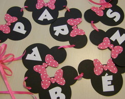 Bandeirolas Scrapbook - MINNIE