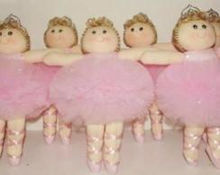 Boneca de Pano Bailarinas