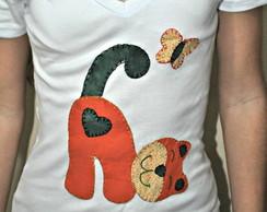Camiseta - Gatinha Dorminhoca