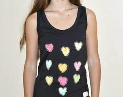 Camiseta- 10  Cora��es