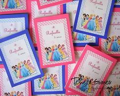 Bloco Personalizado - Princesas