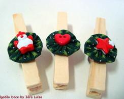 Pregador decorado - Natal