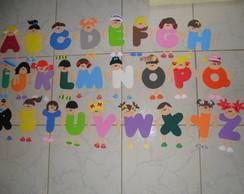 Alfabeto Menina e Menino