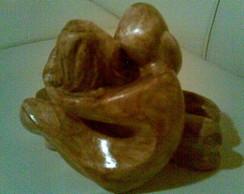 Escultura em gesso