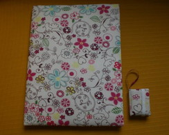 Caderno Decorado Universit�rio